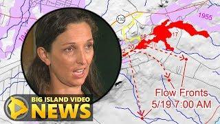 Hawaiian Volcano Observatory Eruption Update (May 19, 2018)