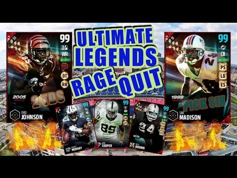 99 UL OCHO CINCO AND 99 UL SAM MADISON GETTING THE RAGE QUIT !!!