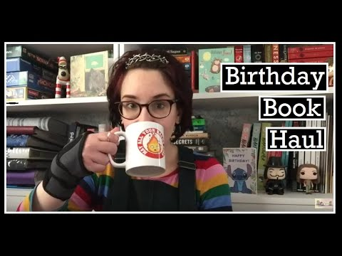Birthday Book Haul (cc) from YouTube · Duration:  11 minutes 6 seconds