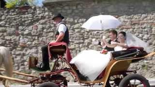 Свадьба за границей. Свадьба в Словении Юлии и Николая
