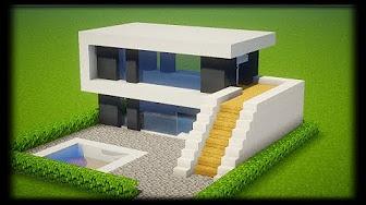 Plan De Maison Minecraft Youtube