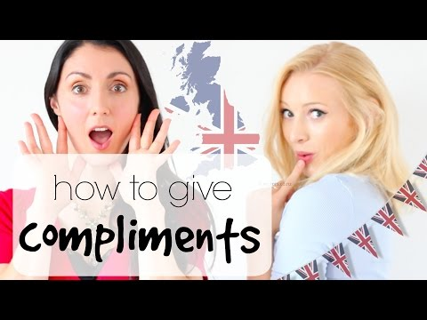 How to give COMPLIMENTS | British English Speaking Practice*