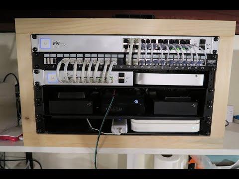 DIY 6U Wooden Network Cabinet Build - Part 2