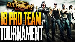 Baixar 18 PRO TEAM TOURNAMENT PLAYOFF - ft. Blacklist, nMe, Wolfpack, GS in PUBG Mobile