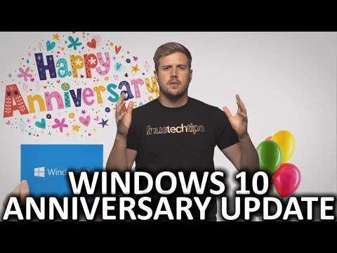 Windows 10 Anniversary Update Explained