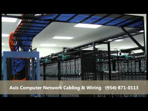 West Palm Beach Computer Network Cabling Company Installers Wiring