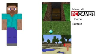 Minecraft Pc Gamer Demo (Secrets)