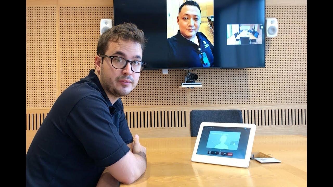 Slipp resan – boka en enkel videokonferens i Jörgen Lehmann