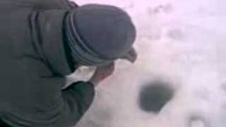 Зимняя рыбалка на Оке последний лёд часть 2. 2018 04 04
