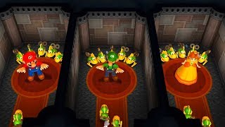 Mario Party 9 - All Survival Minigames (2 Players)