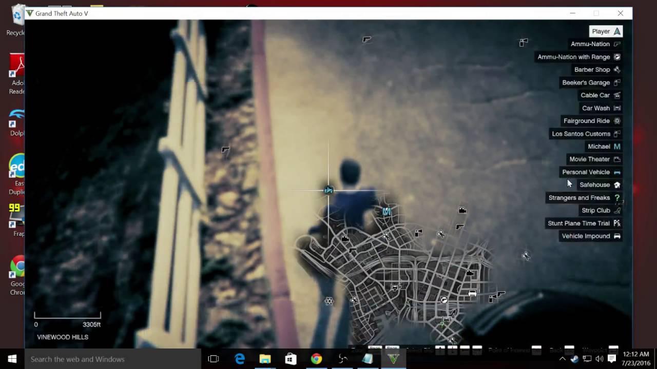 GTA 5 Mod Menu Script Hook 5+Native Trainer Easy Under Five Minutes Windows  10 Steam & non Steam