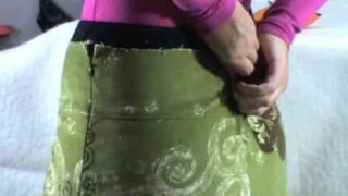 Comment reprendre la taille d'une jupe seule