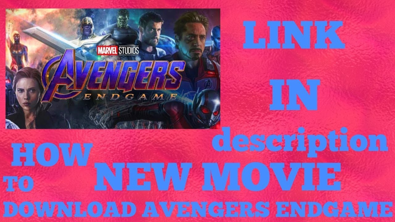 HOW TO DOWNLOAD AVENGERS ENDGAME IN HINDI | DOWNLOAD AVENGERS ENDGAME FULL  MOVIE |