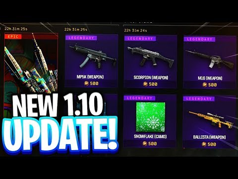 *NEW* BO4 UPDATE 1.10 🔴 // NEW CALL OF DUTY BLACK OPS 4 UPDATE 1.10 // 🔴TOP RANKED COD PLAYER! thumbnail