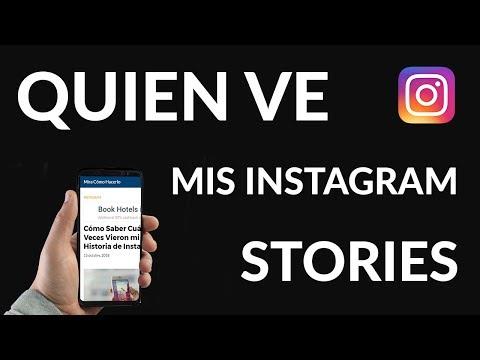Cómo Saber Cuántas Veces Vieron mi Historia de Instagram