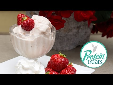 Strawberry Ice Cream Protein Treats By Nutracelle