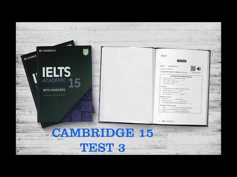 Cambridge IELTS 15 IELTS Test 3 - IELTS LISTENING 2020 - Employment Agency - Possible Jobs