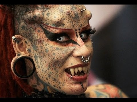 Body Piercing And Tattoo Transformation