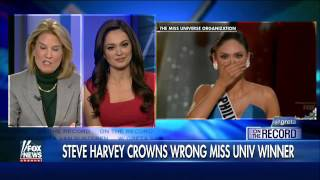 Miss Universe blunder: