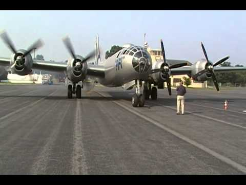 B-29 Superfortress FiFi Start up