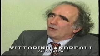 1995 - Antenna 3 * Stefania Cioce intervista Vittorino Andreoli su