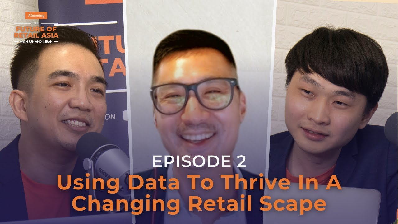 """""""Using Data to Thrive in a Changing Retail Scape"""" with Ivan Loh 