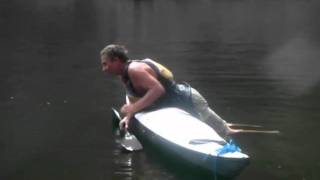 Kayak Skill - Self-rescue - Re-entry