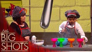 Adorable Little Cook Kicha Makes A Delicious Coconut Ice cream | Little Big Shots