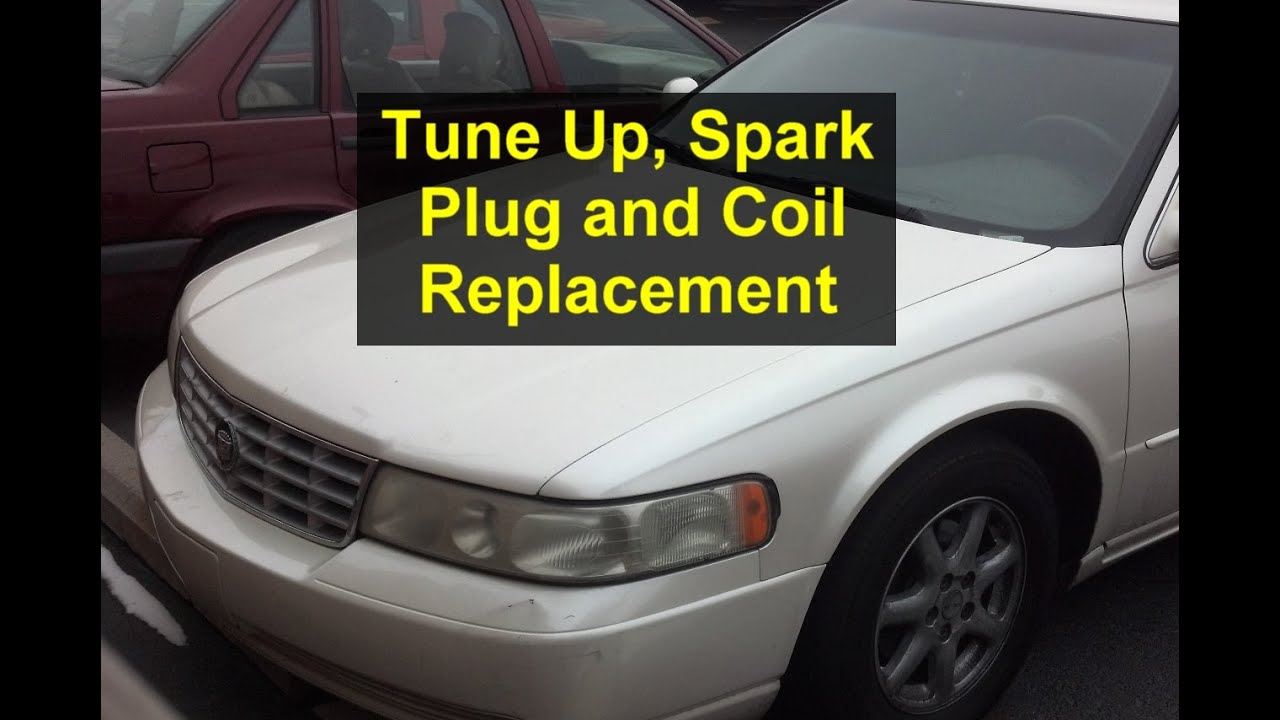 Tune up, spark plug replacet and coil pack replacet, Cadillac ...