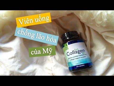 Thuốc chống lão hóa Fish Collagen + HA 120 viên của Mỹ có tốt không