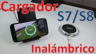 Nuevo Cargador Inalámbrico Para Celulares Samsung S7, S8 y S8 Plus