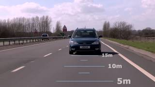 Open Road ADAS testing with Moving Base