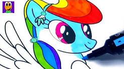 Spike Cara Menggambar Dan Mewarnai Gambar Kartun Kuda Poni