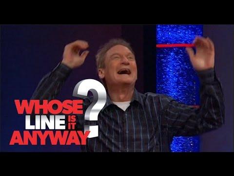 Ryan Flings Breast into Audience! - Whose Line Is It Anyway? US