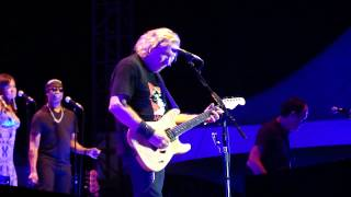 joe walsh playing in the city at the woods amphitheater nashville tn may 26 2012