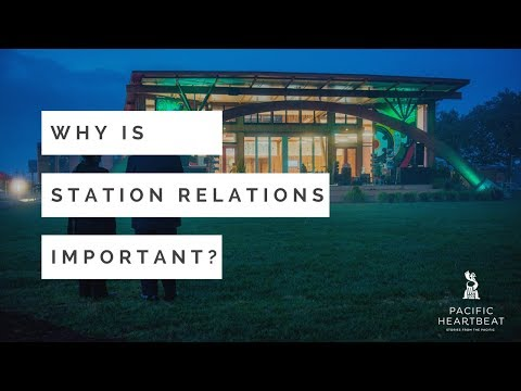 PIC Workshop: Why is Station Relations Important?