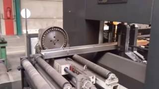 Ficep 903 DZB CNC drilling for H-beams (P14 9538)