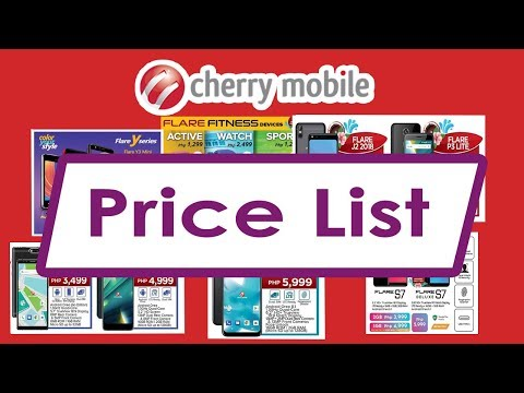 Cherry Mobile Android Smartphones And Tablets Price List