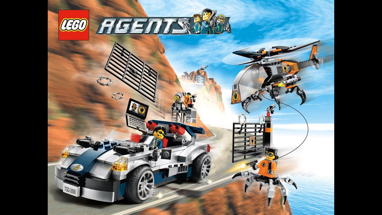 Lego Agents Mission 6 Lego Agents Mission 5 ...