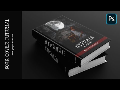 Secret Tips Of Book Cover Design - Photoshop Tutorial