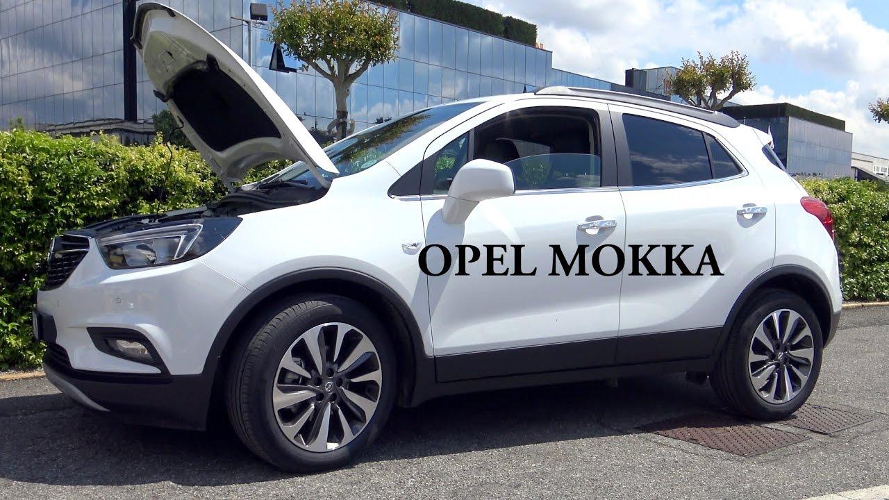 Prova Opel Mokka scheda tecnica opinioni e dimensioni 1.6 ...