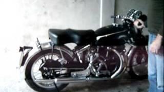 Moto clássica HRD VINCENT 1947