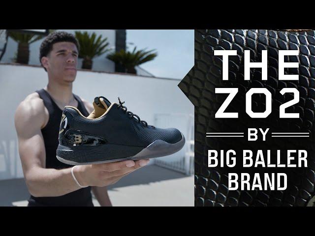 new arrival 29df7 66877 Top NBA prospect Lonzo Ball reveals new  495 signature shoe   Sport   The  Guardian