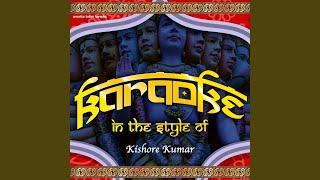 O Mere Dil Ke Chain (Karaoke Version)