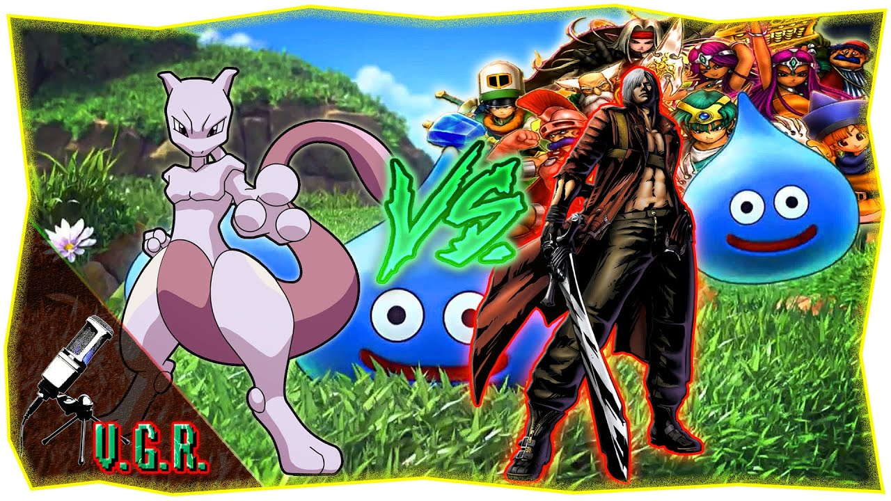 pokemon u0027s mewtwo vs dante from devil may cry on a dragon quest