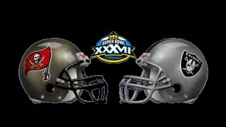 NFL Fever 2003 - Xbox 2002 (Super Bowl XXXVII TB vs OAK)