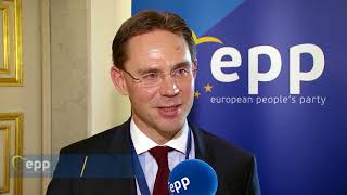 EPP Vice-President Jyrki Katainen on security and defence