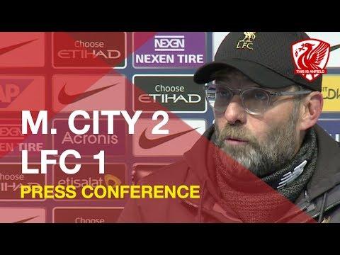 Man City 2-1 Liverpool | Jurgen Klopp Press Conference