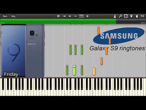 SAMSUNG GALAXY S9 RINGTONES IN SYNTHESIA
