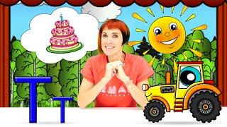 Развивающий мультик для малышей - учим буквы и Азбуку с Машей Капуки Кануки. Машинки и Буква Т
